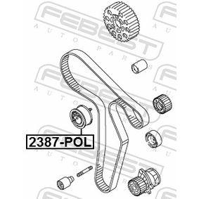 Napínací kladka, ozubený řemen 2387-POL FEBEST