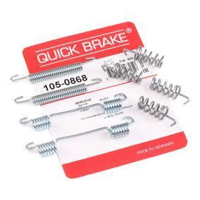 CRAFTER 30-50 Kasten (2E_) QUICK BRAKE Zubehörsatz Bremsbacken 105-0868