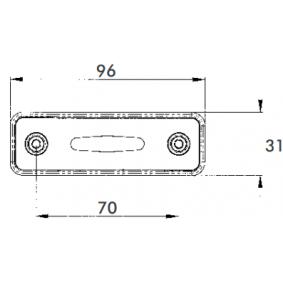 40164523 Begrenzungsleuchte von PROPLAST Qualitäts Ersatzteile