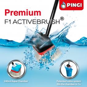 PINGI Spazzola per la pulizia degli interni auto PAB-F2