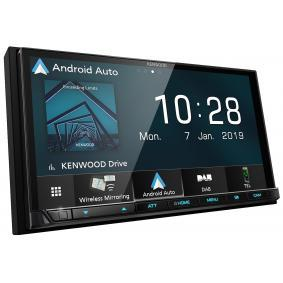 Multimedia-vastaanotin autoihin KENWOOD-merkiltä: tilaa netistä