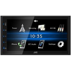 Receptor multimédia para automóveis de JVC: encomende online