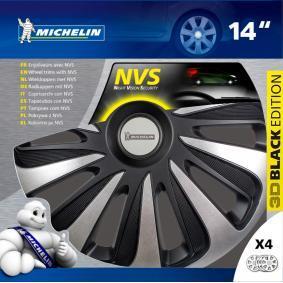 Hjulkapsler til biler fra Michelin - billige priser