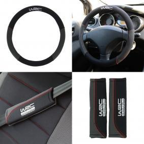 007595 Steering wheel cover for vehicles
