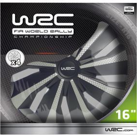 Wieldoppen voor auto van WRC: voordelig geprijsd