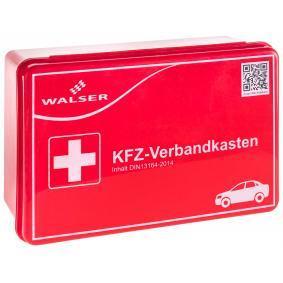 Βαλιτσάκι πρώτων βοηθειών αυτοκινήτου για αυτοκίνητα της WALSER: παραγγείλτε ηλεκτρονικά