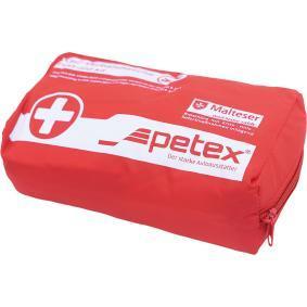 Zestaw pierwszej pomocy do samochodu do samochodów marki Petex: zamów online