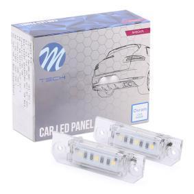 M-TECH Светлини на регистрационния номер CLP010
