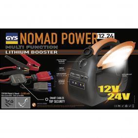 Baterie, pomocné startovací zařízení pro auta od GYS – levná cena