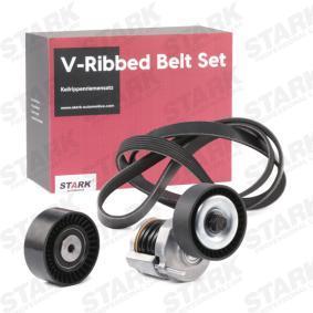 03L903137H für VW, AUDI, SKODA, SEAT, Keilrippenriemensatz STARK (SKRBS-1200056) Online-Shop