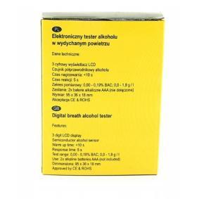 94-012 Alcoholímetro para vehículos