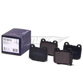 Bremsbelagsatz TX 18-72 TOMEX brakes