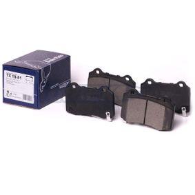 TOMEX brakes Bremsbelagsatz, Scheibenbremse 68003610AA für CHEVROLET, ALFA ROMEO, JEEP, CHRYSLER, JAGUAR bestellen