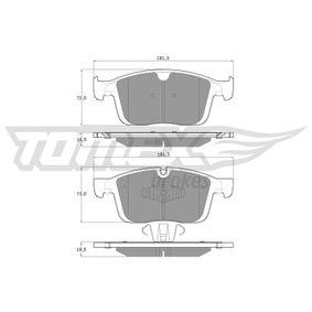 Bremsbelagsatz, Scheibenbremse TOMEX brakes Art.No - TX 18-85 OEM: 31445986 für VOLVO, SATURN kaufen