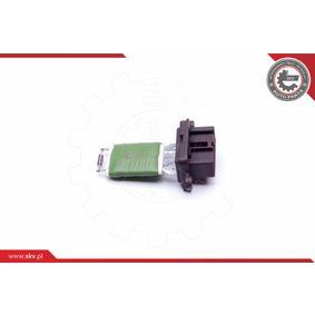 Blower motor resistor 94SKV071 ESEN SKV