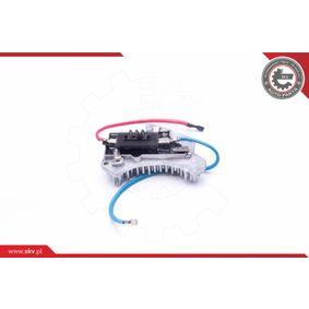 A2108700210 für MERCEDES-BENZ, Widerstand, Innenraumgebläse ESEN SKV (94SKV079) Online-Shop