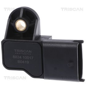 Sensore, Pressione collettore d'aspirazione TRISCAN Art.No - 8824 10017 comprare