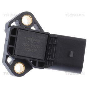 TRISCAN Senzor tlaku sacího potrubí 8824 29027