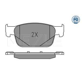 MEYLE Bremsbelagsatz, Scheibenbremse 8W0698151AG für VW, AUDI, SKODA, SEAT bestellen