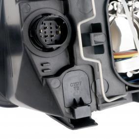 Headlights TYC (20-0335-05-2) for FIAT PANDA Prices