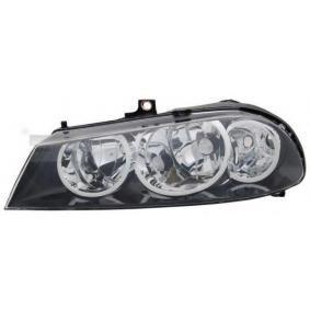 TYC Headlight Left, H7/ H1 20-0744-05-2 original quality