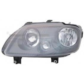 TYC Headlight Left, H7/ H1 20-0760-15-2 original quality