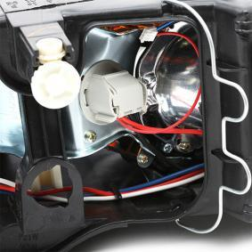 Popular Headlamps TYC 20-5957-05-2 for FIAT PUNTO 1.2 16V 80 (188.233, .235, .253, .255, .333, .353, .639,... 80 HP