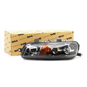 TYC Headlamps 20-5958-05-2