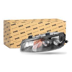 PUNTO (188) TYC Headlamps 20-5958-05-2