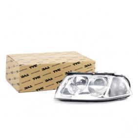 Hauptscheinwerfer TYC Art.No - 20-6244-05-2 OEM: 3B0941015AK für VW kaufen