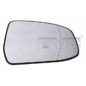 TYC 310-0117-1 Spiegelglas, Außenspiegel OEM - 1538211 FORD günstig