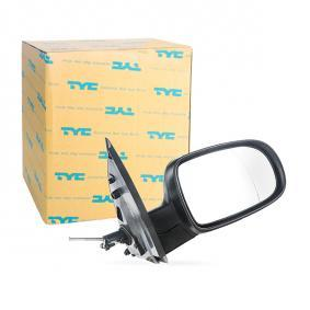 TYC Εξωτερικός καθρέπτης δεξιά 325-0025 Γνήσια ποιότητας