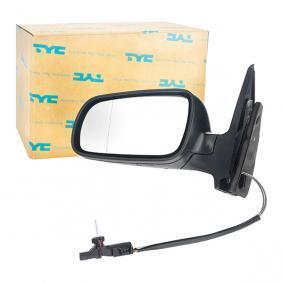Außenspiegel TYC Art.No - 337-0014 OEM: 1J1857521 für VW, SKODA, SEAT kaufen