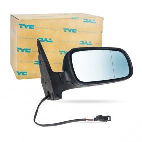 Außenspiegel TYC Art.No - 337-0015 OEM: 3B0857538B für VW, SKODA, SEAT kaufen