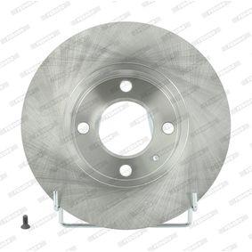 Bremsscheibe FERODO Art.No - DDF042 OEM: 811615301B für VW, AUDI, SKODA, SEAT kaufen
