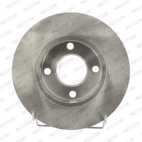 Bremsscheibe FERODO Art.No - DDF048 OEM: 431615301 für VW, AUDI, SKODA, SEAT, PORSCHE kaufen