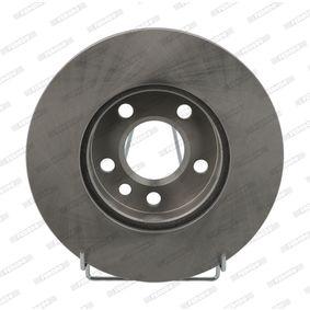 Bremsscheibe FERODO Art.No - DDF1010 OEM: 7D0615301A für VW, AUDI, SKODA, SEAT, PORSCHE kaufen