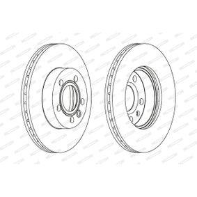 FERODO Bremsscheibe 7D0615301A für VW, AUDI, SKODA, SEAT, PORSCHE bestellen