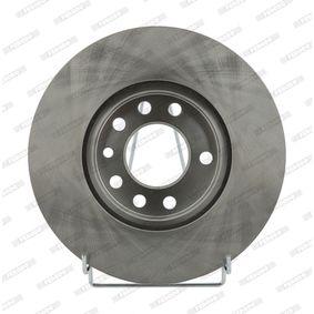 FERODO Disc frana punte fata, Ř: 280mm, ventilat DDF1042 de calitate originală