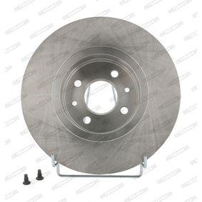 FERODO RENAULT SCÉNIC Bremsscheiben (DDF1124)