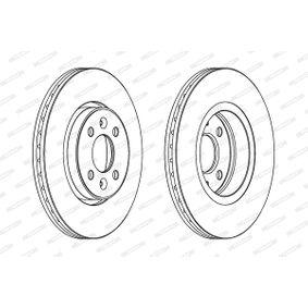 Bremsscheiben FERODO (DDF1124) für RENAULT SCÉNIC Preise
