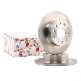 1K0615601AB für VW, AUDI, SKODA, MAZDA, SEAT, Bremsscheibe FERODO (DDF1224) Online-Shop