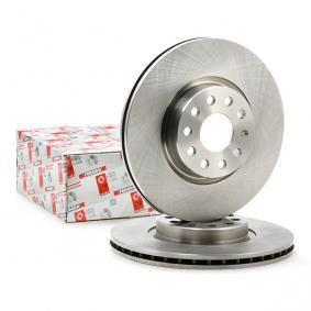 FERODO Bremsscheibe Vorderachse, Ø: 312mm, belüftet DDF1305 in Original Qualität
