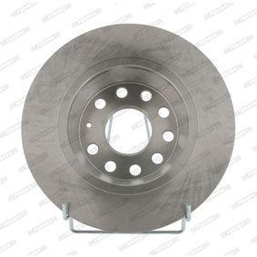 Bremsscheibe FERODO Art.No - DDF1306 OEM: 1K0615601AD für VW, AUDI, SKODA, MAZDA, SEAT kaufen