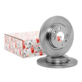 8200123117 für RENAULT, DACIA, RENAULT TRUCKS, Bremsscheibe FERODO (DDF1502) Online-Shop