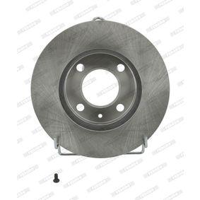 Bremsscheibe FERODO Art.No - DDF175 OEM: 6N0615301G für VW, AUDI, SKODA, SEAT kaufen