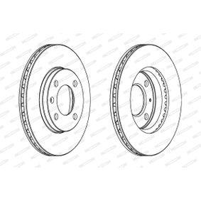 FERODO Bremsscheibe 6N0615301G für VW, AUDI, SKODA, SEAT bestellen