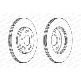 Bremsscheibe FERODO Art.No - DDF181 kaufen
