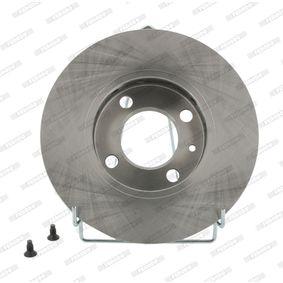 Bremsscheibe FERODO Art.No - DDF812 OEM: 6N0615301F für VW, AUDI, SKODA, SEAT kaufen