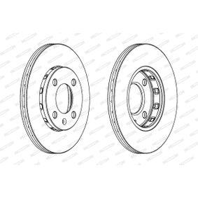 FERODO Bremsscheibe 6N0615301F für VW, AUDI, SKODA, SEAT bestellen